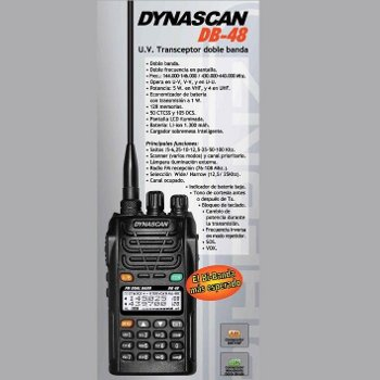 DYNASCAN DB48 Walkie Talkie bibanda